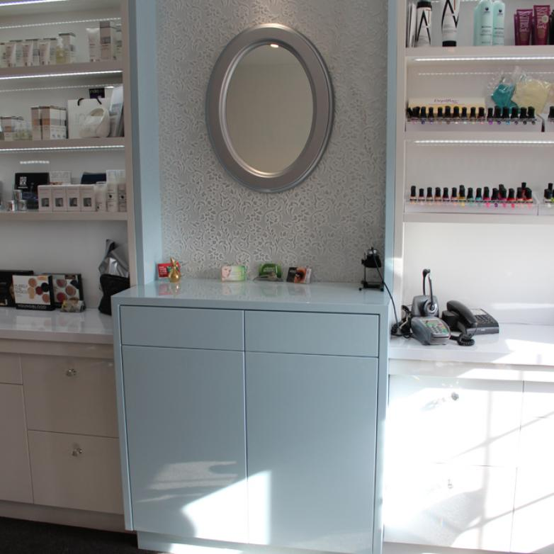 The Sellers Room - Beauty salon luxury fit out