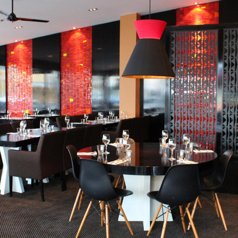 The Sellers Room - Color and textiles restaurant refit