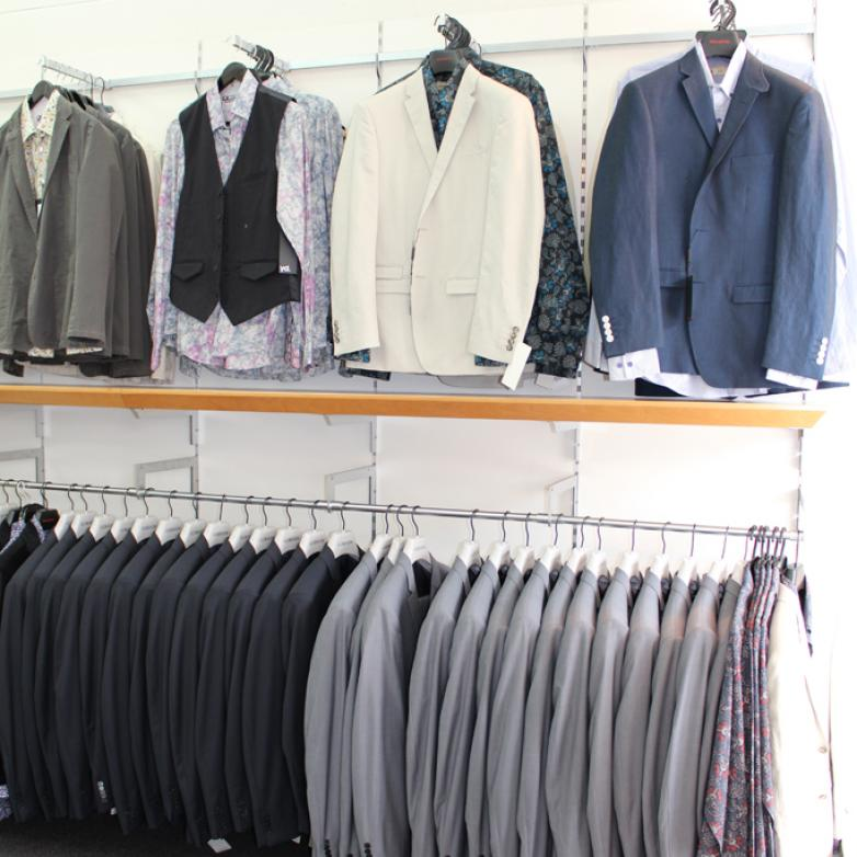 The Sellers Room - Menswear shop design