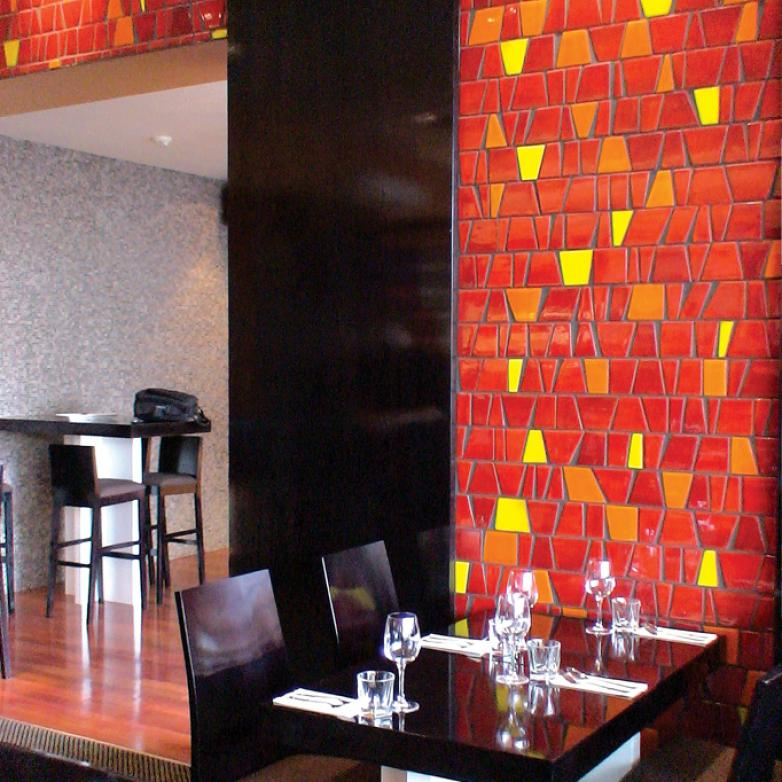 The Sellers Room - Restaurant interior design