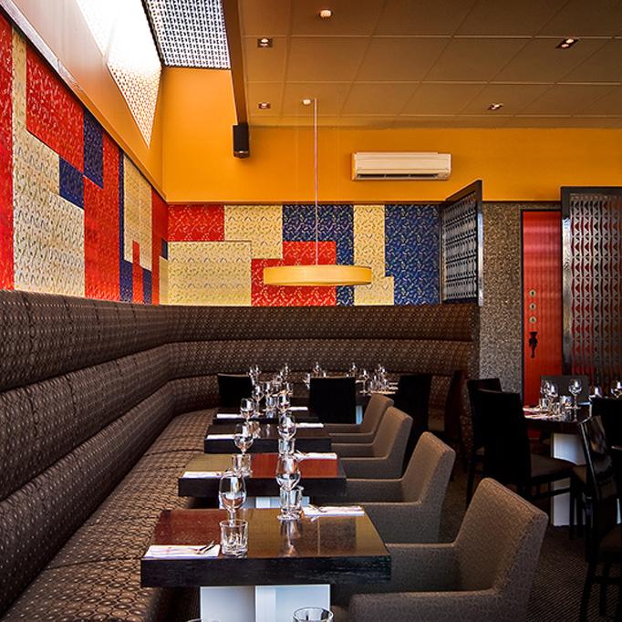 Welcoming Intimate Showhouse Kitchen: Christchurch Restaurant & Bar Interior Design
