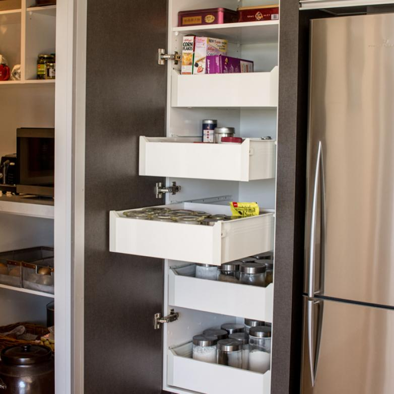 The Sellers Room - Well designed kitchen storage