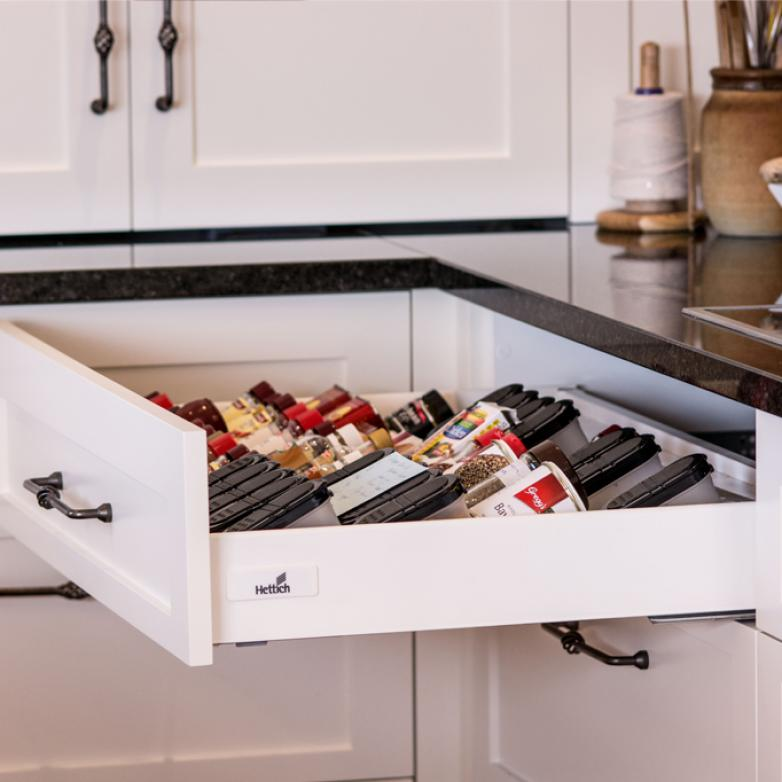 The Sellers Room - Kitchen drawer compartments